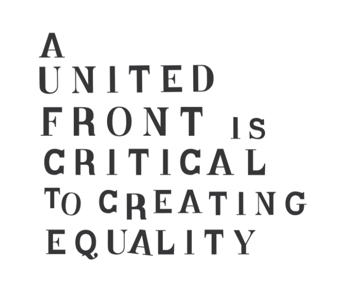 The united front is critical to creating equality