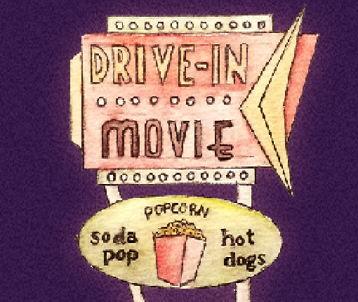 Grease at the drive-in