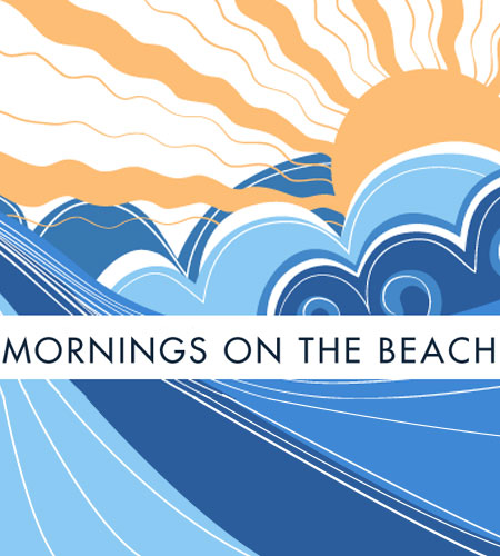 Mornings on the Beach intro logo