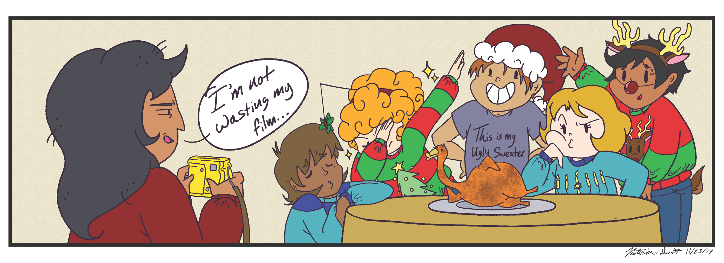 22 West Holiday Comic Khris Cring le 1