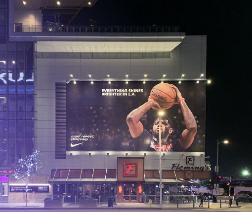 Large Paul George poster