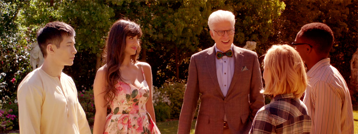 The main characters of The Good Place