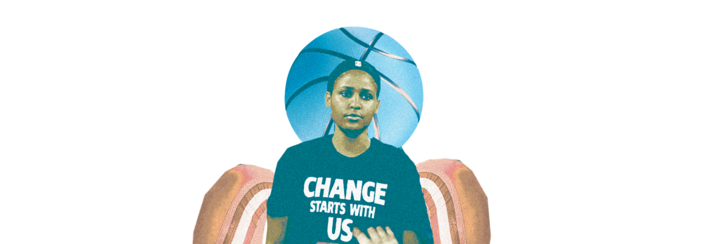 Maya Moore of the Minnesota Lynx.