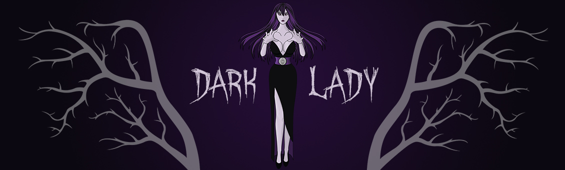 The Dark Lady full logo